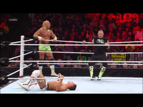 New Age Outlaws vs. Team Rhodes Scholars: Raw, March 11, 2013
