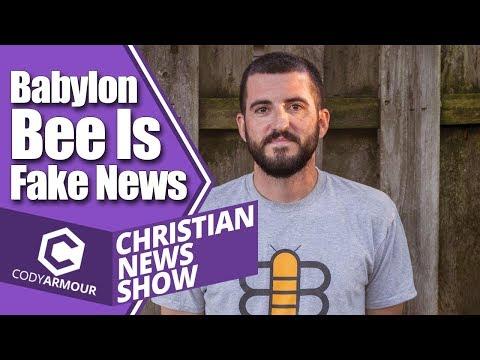 Babylon Bee Is Fake News (Christian News Show)