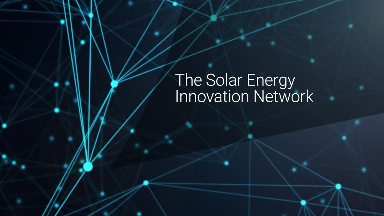 Solar Energy Innovation Network Solar Research Nrel