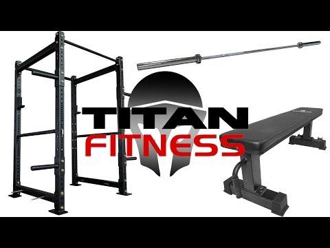 Titan Fitness Home Gym - The Essentials