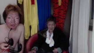 【ジンギスカン】哲子と政孝 奇跡の母子コラボ放送【ニコ生】 阿部哲子 検索動画 14