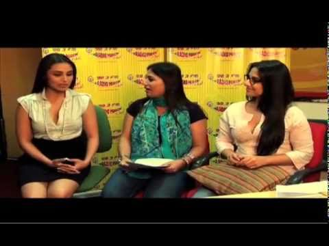 Rani and Vidya speak Bengali! - Radio Mirchi