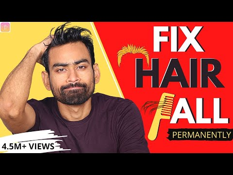 How to Stop Hair Fall and Grow Hair Faster Naturally (Men & Women)
