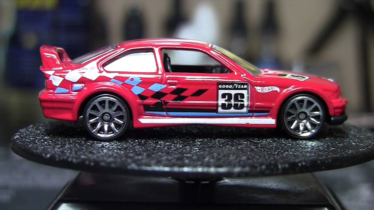 hot wheels raok bmw e36 m3 race in red youtube. Black Bedroom Furniture Sets. Home Design Ideas