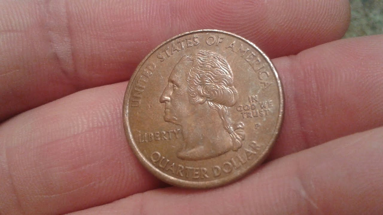 Rare Coin Find: No Clad 2000 P Maryland Quarter Mint Error