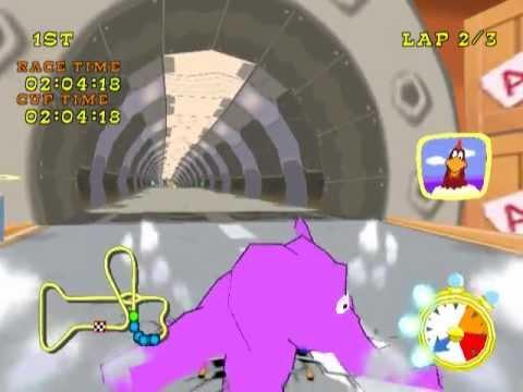 looney toons racing psx - YouTube