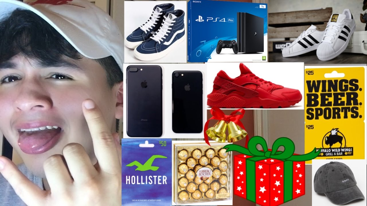 Teen Boy Christmas.Teenage Boy Christmas Wish List 2016