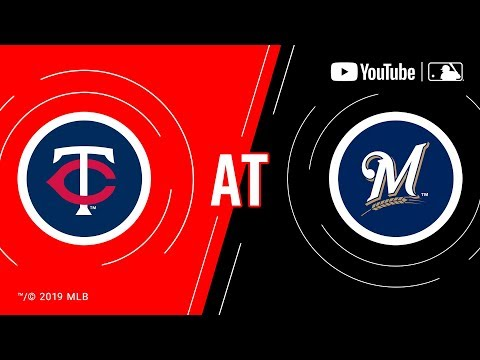 Twins At Brewers | MLB Game Of The Week Live On YouTube