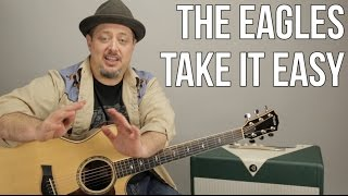 "How to Play ""Take it Easy"" by The Eagles on Acoustic Guitar - Easy Songs"