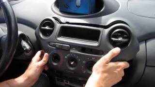 GTA Car Kits - Toyota Echo 1999-2005 install of iPhone and iPod adapter for factory stereo