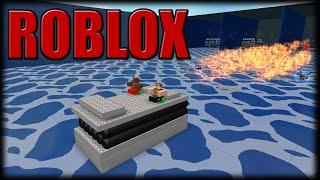 Jogando Roblox - Enfartando nos Barcos - Parte 1