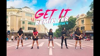 [1theK Dance Cover Contest][KPOP IN PUBLIC VIETNAM] PRISTIN V (Remix) _ 'Get It' | By #HUDENCrew