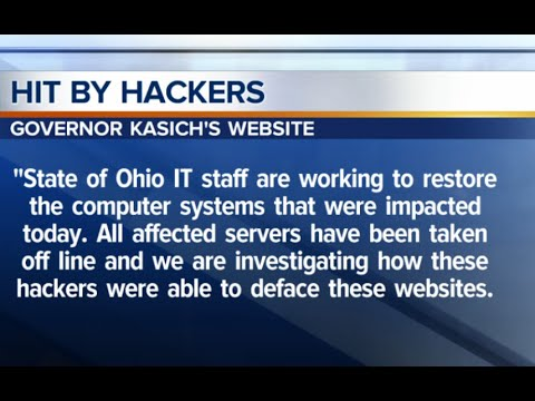Ohio Department of Rehabilitation and Correction's website, along with other government sites hacked