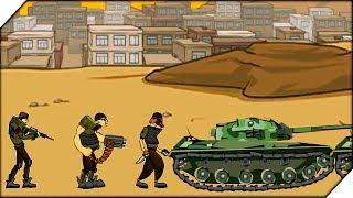 ВОЛОСАТЫЕ ЛУЧНИКИ - Age of war 2 Generals прохождение # 5 (Gongas Kang The Empror)