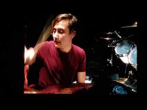 Nick Collins Drum solo, live Prague 25.6.2019