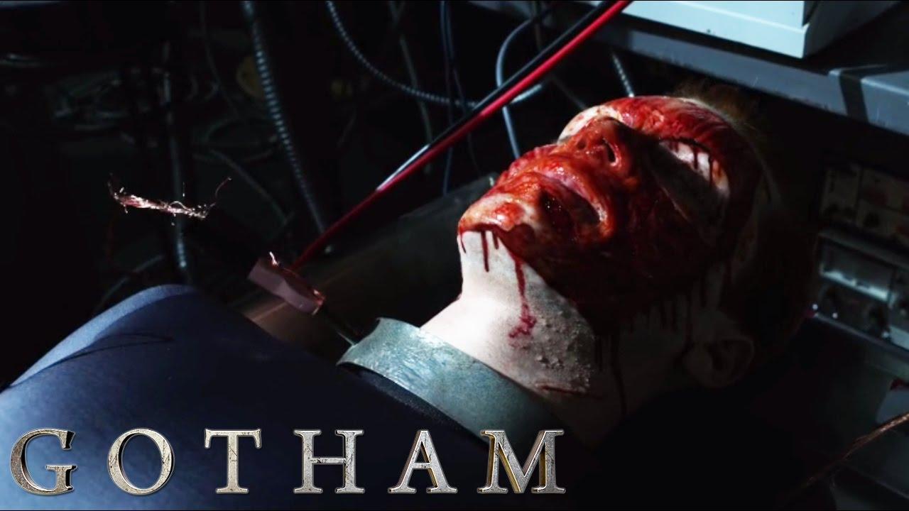 Gotham - Dwight Takes Jerome's Face - YouTube  Gotham - Dwight...