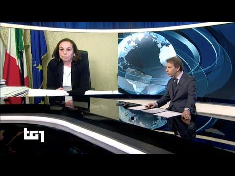 Emergenza coronavirus, intervista del ministro Lamorgese su Rai 1