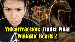 Videorreacción Trailer Final Fantastic Beasts The Crimes of Grindelwald