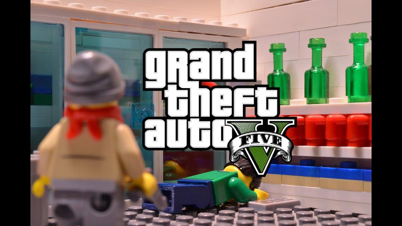 LEGO GTA 5 YouTube
