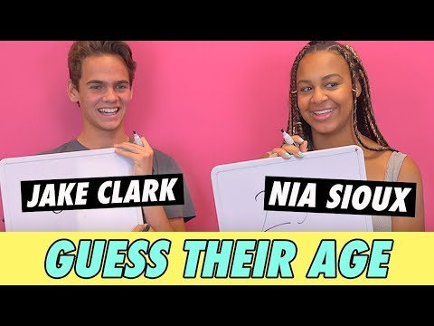 Nia Sioux Vs. Jake Clark - Guess Their Age