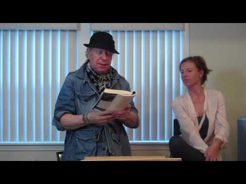 Henry Jaglom & Tanna Frederick read & speak at Vicki Abelson's Women Who Write 6/13/13