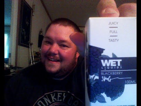 Wet Liquids Blackberry review