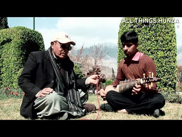 Blind Rababist Nizam Uddin Hunzai plays Burushaski Song Jiye Sar Tzey Dawasaba