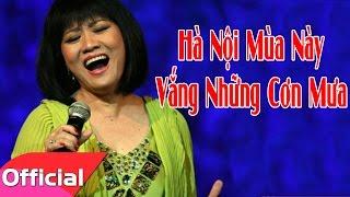 Hà Nội Mùa Này Vắng Những Cơn Mưa - Cẩm Vân [Karaoke MV HD]