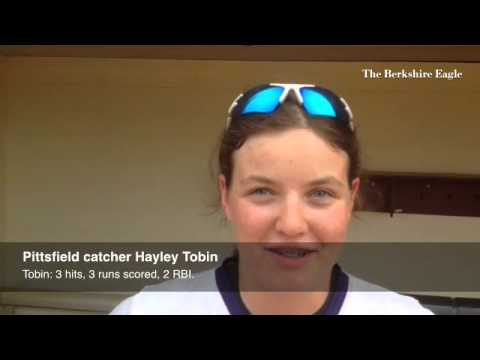 SOFTBALL: Pittsfield's Hayley Tobin on advancing to the Western Massachusetts final.