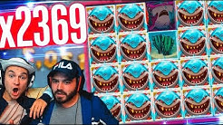Record win Razor Shark slot on stream - Top 5 BIG WINS  in slot