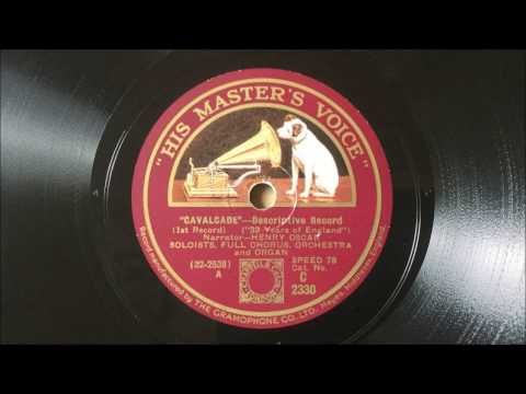 """Cavalcade"" - Descriptive Record (1931)"