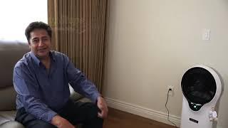 How to Keep it Cool in a Hot Weather | Newair Portable Evaporative Cooler EC111W