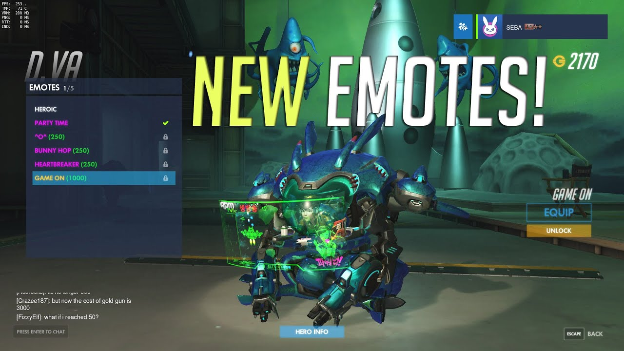 Ana Emotes d.va's new emote is the greatest thing to happen to