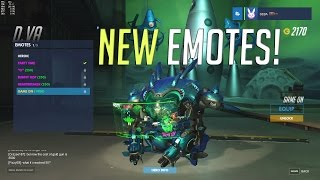 All Of The New Overwatch Emotes