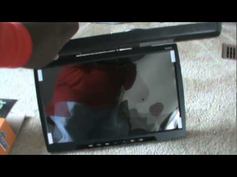 custom flip down tv 24 youtube. Black Bedroom Furniture Sets. Home Design Ideas
