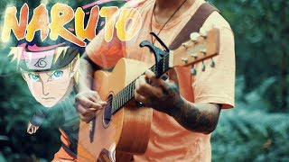 Naruto - Sad Soundtracks cover fingerstyle acoustic guitar D.AW