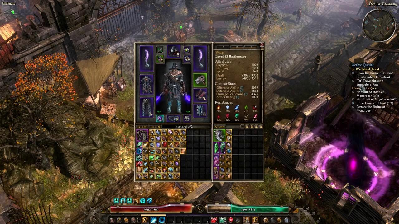 Grim Dawn Melee Aether Battlemage Dw Battlemage Gameplay Part 1
