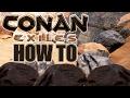HOW TO GET IRON & COAL  | CONAN EXILES