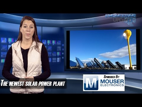 Engineering Update Episode 89: New Solar Power Plants