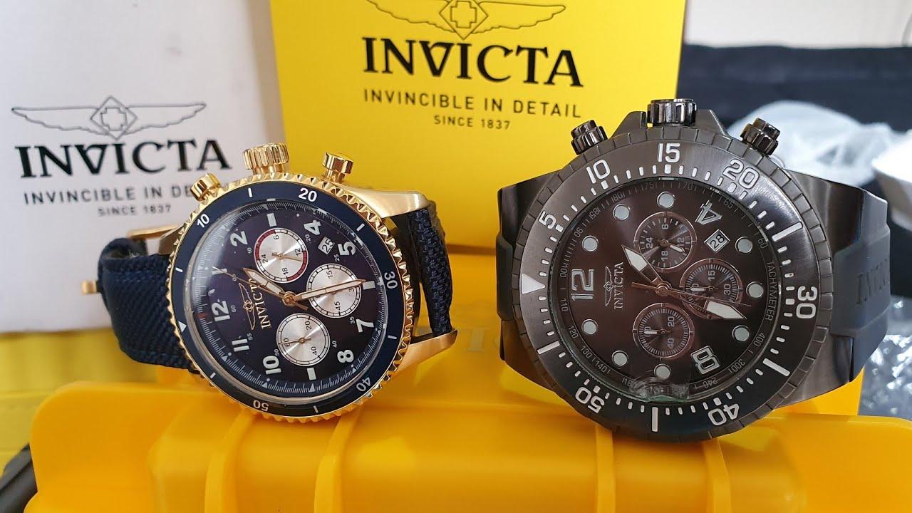 Por fin puedo ver el #Reloj #Invicta Speedway modelo 31289 y el reloj #Specialty Reloj  Modelo 16750