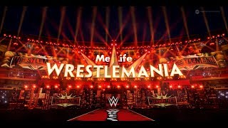 WWE WrestleMania 35 STAGE REVEAL! Triple H vs. Batista Entrances & Pyro [CONCEPT]