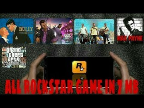 [7] MB DOWNLOAD ALL ROCKSTAR GAMES FOR FREE
