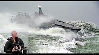 Barracuda II Video, rough seas & Storm Desmond