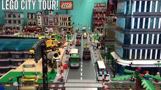 Lego City Tour! July 1st large Layout!