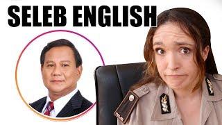 Prabowo, Prilly Latuconsina, Cania Citta - Seleb English