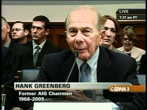 AIG Collapse and Federal Rescue