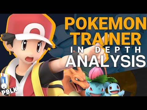 Super Smash Bros. Ultimate - Pokemon Trainer In-Depth Analysis (Changes, Frame-Data, Aesthetics)