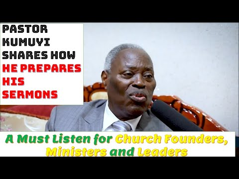 How to Prepare a Message with Pst Kumuyi's Life Experience