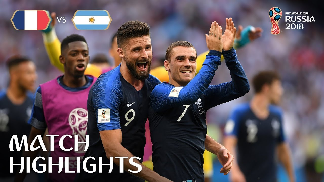 France V Argentina 2018 Fifa World Cup Match Highlights Youtube