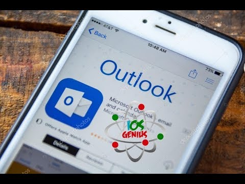 How to set up a school email on outlook iphone